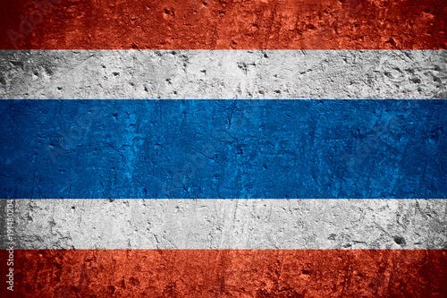 Fotobehang Thailand flag of Thailand