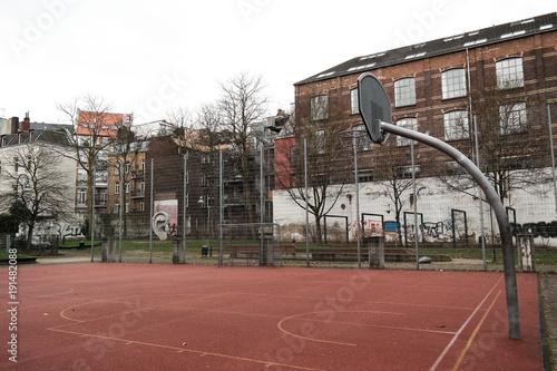 Aluminium Basketbal Käfiger Fußballspielplatz