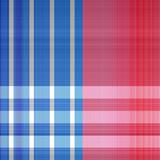 Patriotic Plaid Pattern - 191485250