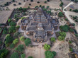Dhammayangyi Temple the Largest of all the temples in Bagan complete structure aerial view taken before earthquake in Myanmar - 191493271