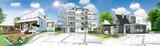 Concept immobilier et construction de maison - 191497678