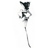 Elegant dress. Fashion illustration.  - 191500470