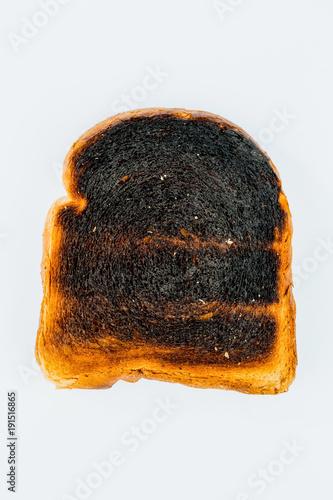 burnt toast slices of bread - 191516865