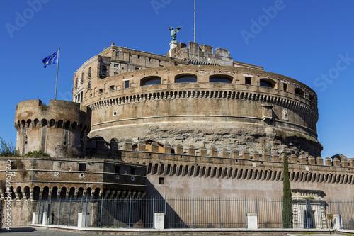 italy, rome, castel santangelo