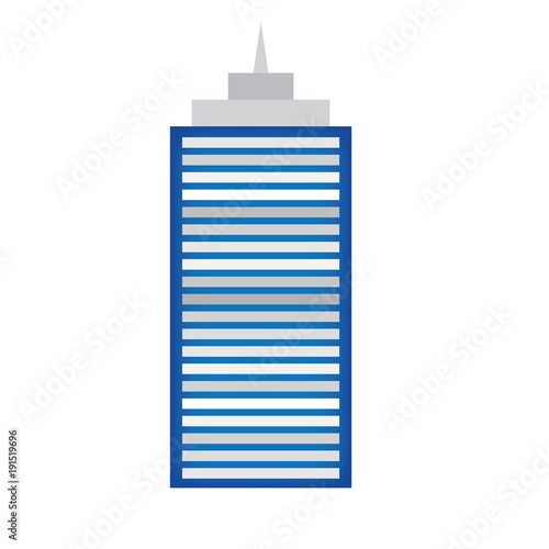 skyscraper icon- vector illustration