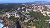 Vista da costa de Cascais em Portugal - 191522462