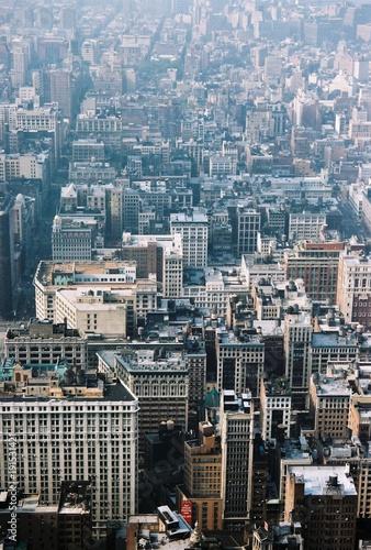 Foto op Plexiglas New York city, new york, skyline, manhattan, view, buildings
