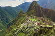 Photo from drone of Machu Picchu