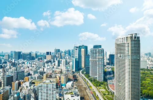 Fotobehang Tokio 都市風景 東京