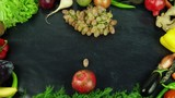 Japan Cuisine fruit stop motion - 191570266