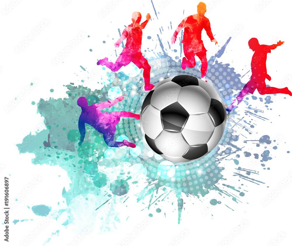 Naklejka 3d Dziura W ścianie Z Regipsu Piłka Nożna Puchar świata