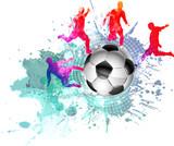 Calcio, Mondiali, Europei, Pallone, Giocatori - 191606897