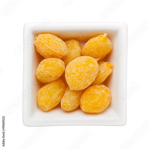 Preserved peach