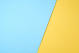 blue and yellow pastel paper color for background - 191612451