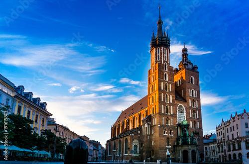 Krakow The Cloth Hall in Krakow, Poland