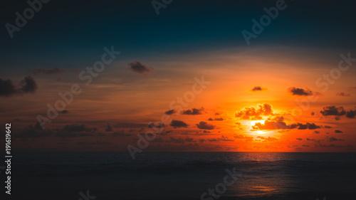 Aluminium Bali Sunset at Canggu Bali