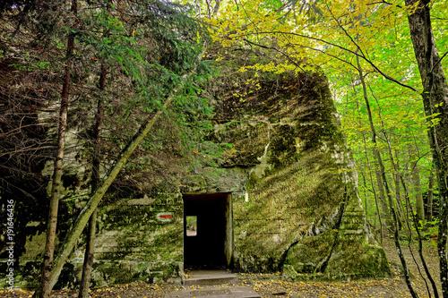 Wilczy Szaniec-ruiny kwatery Hitlera