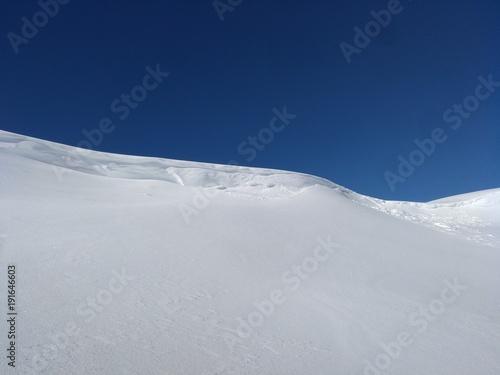Fotobehang Nachtblauw Schneekamm_3