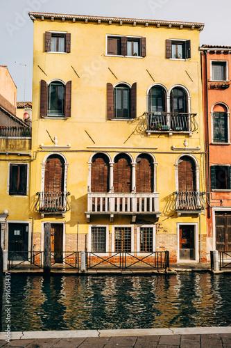 Foto Murales Landscape of picturesque Venice channels.