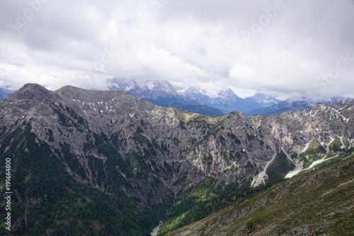 Fotobehang Zwart Panorama