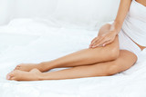 Long Woman Legs With Smooth Soft Skin. - 191670455