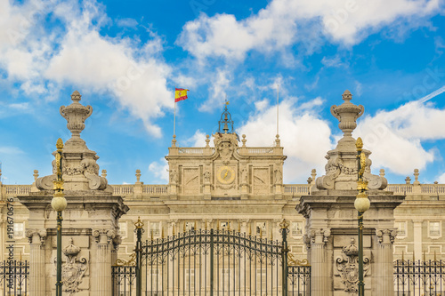 Foto op Canvas Madrid Royal Palace, Madrid, Spain