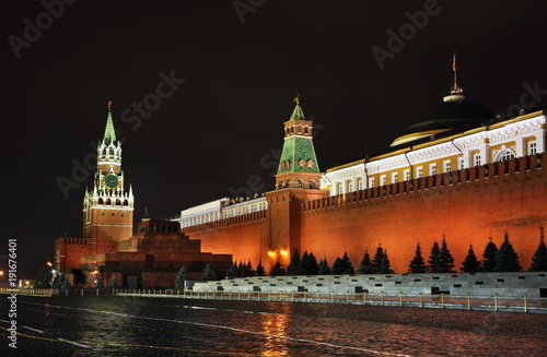 Fotobehang Moskou Red square in Moscow. Russia