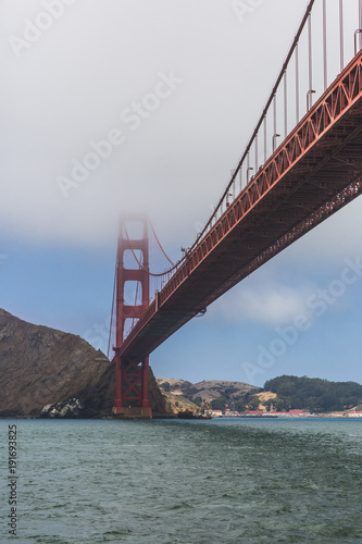 Fotobehang San Francisco Puente Golden Gate