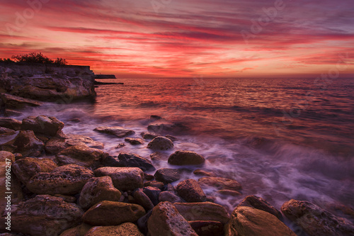 Foto op Canvas Crimson Nightcliff, Darwin NT.