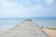 Quadro pier in Okinawa