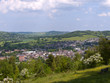 England, Cotswolds, Gloucestershire, view over Stroud and its valleys from Rodborough Common