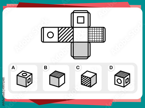 Practice Questions Worksheet For Education And Iq Test Buy Photos