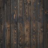 Dark wood vertical texture or background - 191718857