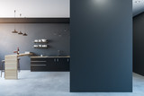 Modern kitchen with copy space - 191725067