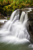 Beautiful cascades of Clare Glens in Ireland - 191725646