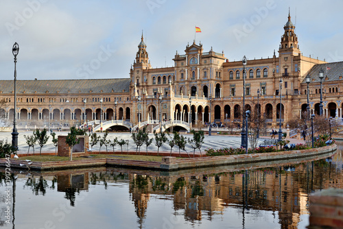 The Square of Spain, Seville, Spain