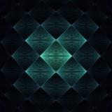 Diamant fraktaler Hintergrund - Vorlage - 191735294