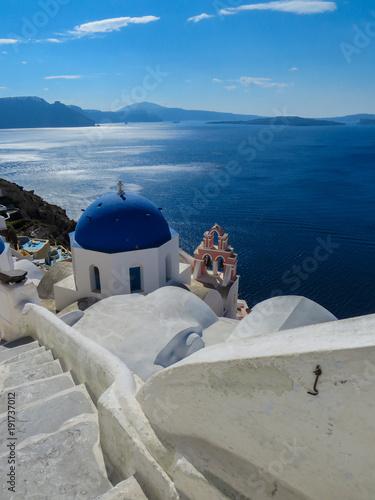 Foto op Canvas Santorini Santorini Greece