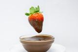 Fresón con natillas de chocolate - 191741489
