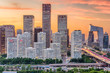 Beijing Sunset Scene