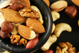 nuts mix for a healthy diet (cashew, pistachios, hazelnuts, walnuts, almonds) - 191748808