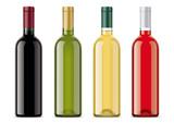 Wine bottles mockups - 191750027