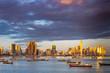 canvas print picture - Panaorma von Panama-Stadt