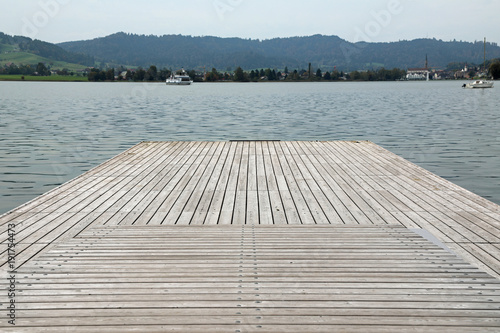 Wooden Pier at Lake