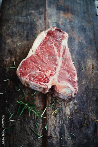 Foto op Canvas Steakhouse T-bone steak