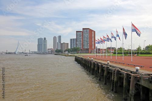 Fotobehang Rotterdam Rotterdam, Niederlande