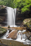 Cucumber Falls in the Laurel Highlands of Pennsylvania - Ohiopyle State Park