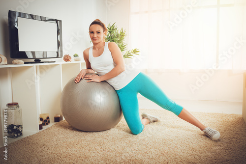 Plexiglas Fitness Fitness At Home