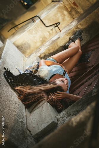 Loneliness Young Woman