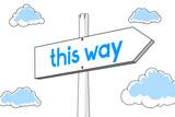 This way - signpost - 191794404